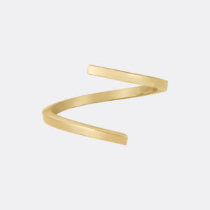 Fine Twist 14k Gold Ring