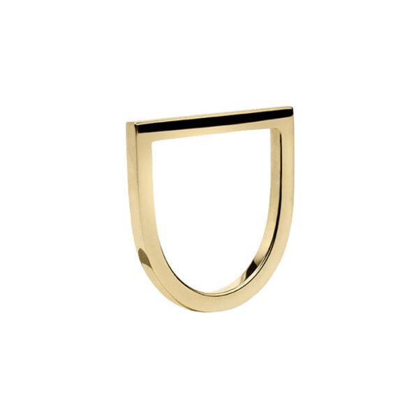Flat Ring in 14-Karat Yellow Gold