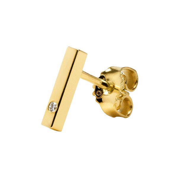 Short Ear Crawler in 18-Karat Yellow Gold