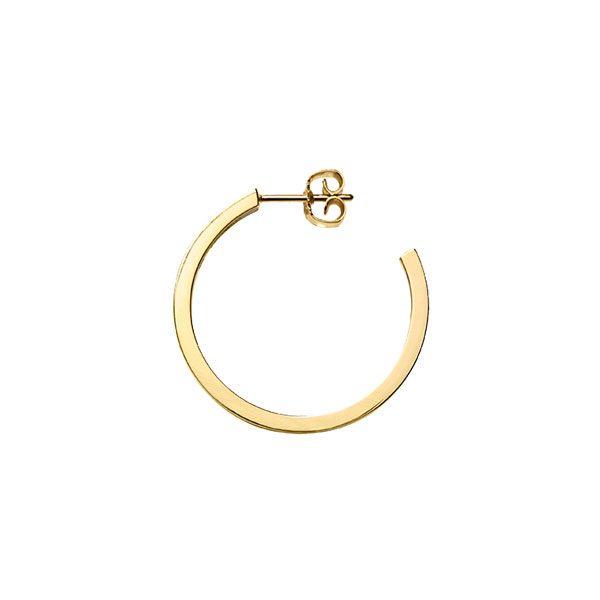 Creole Earrings in 18-Karat Yellow Gold
