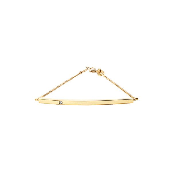 Pendant Bracelet in 18-Karat Yellow Gold