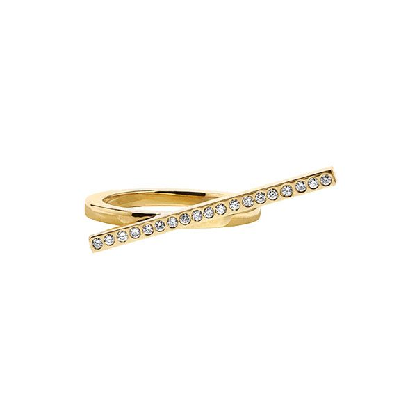 Two-Finger Ring in 18-Karat Yellow Gold