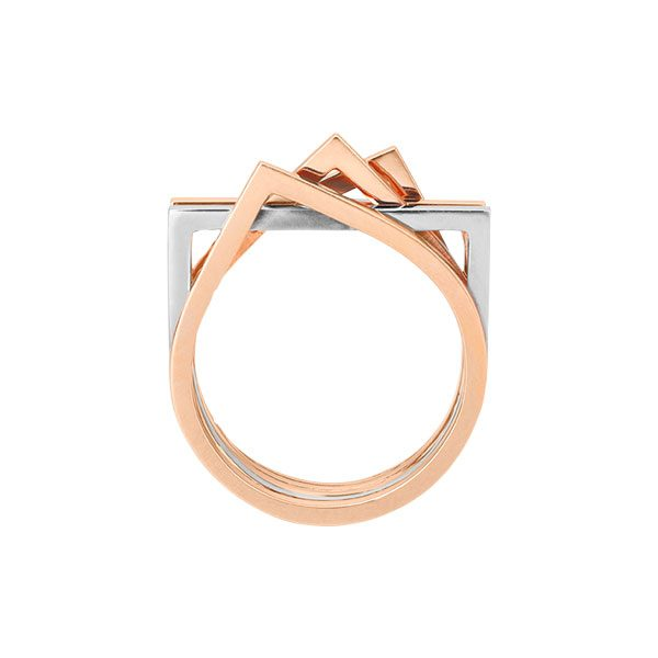 Stack Ring in 18-Karat Gold
