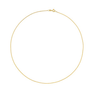Panser Facet Chain in 14-Karat Yellow Gold