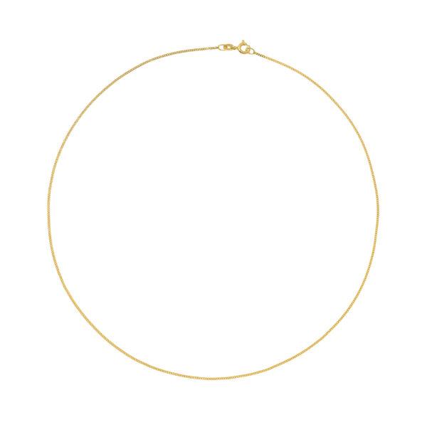 Panser Facet Chain in 14-Karat Yellow Gold