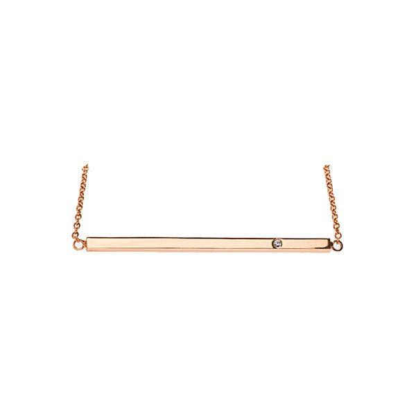 Pendant Necklace in 18-Karat Rose Gold