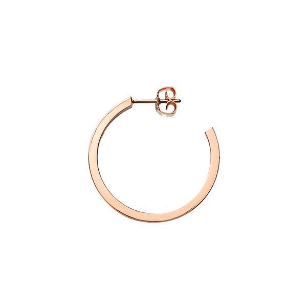 Creole Earrings in 18-Karat Rose Gold