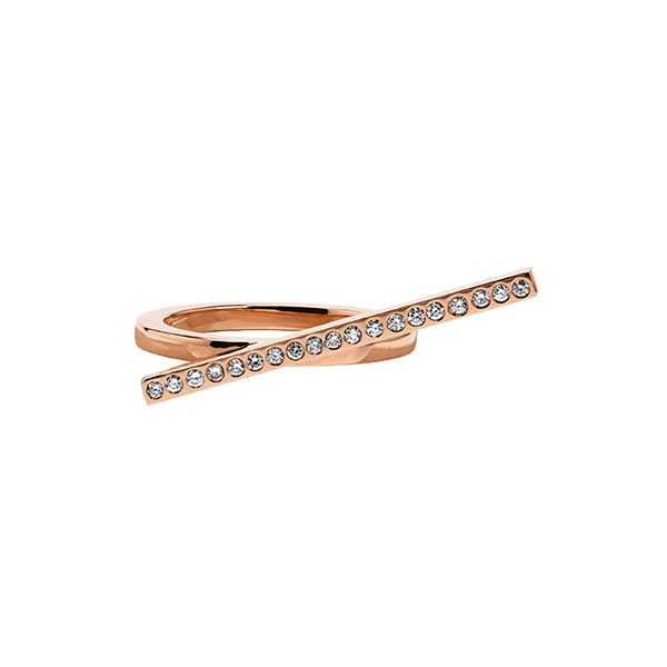 Two-Finger Ring in 18-Karat Rose Gold